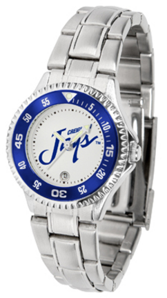 Creighton Blue Jays Competitor Ladies Watch with Steel Band