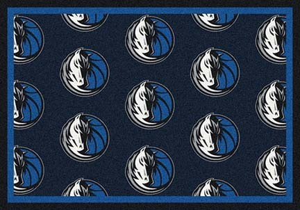 "Dallas Mavericks 2' 1"" x 7' 8"" Team Repeat Area Rug Runner"