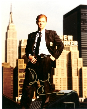 """David Caruso Autographed 8"""" x 10"""" Photograph (Unframed)"""