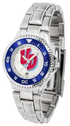 Dayton Flyers Competitor Ladies Watch with Steel Band