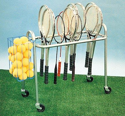 Deluxe Roll-A-Bout Racquet Stand