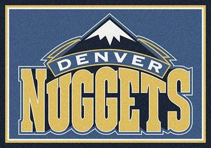 "Denver Nuggets 3' 10"" x 5' 4"" Team Spirit Area Rug"