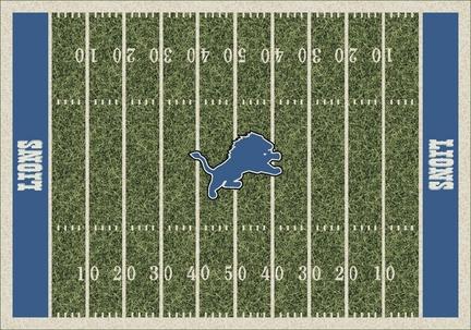 "Detroit Lions 3' 10"" x 5' 4"" Home Field Area Rug"