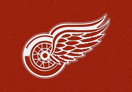 "Detroit Red Wings 3' 10"" x 5' 4"" Team Spirit Area Rug"