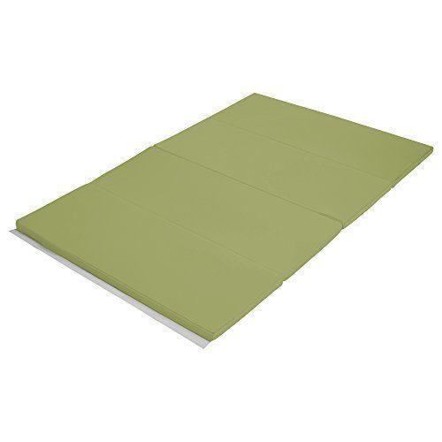 Early Childhood Resources ELR-12206-FG 4 x 6 in. SoftZone Runway Tumbling Mat Fern Green