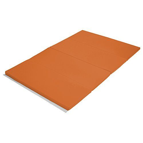 Early Childhood Resources ELR-12206-OR 4 x 6 in. SoftZone Runway Tumbling Mat Orange