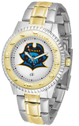 East Tennessee State Buccaneers Competitor Two Tone Watch