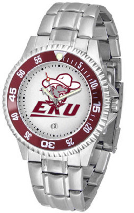 Eastern Kentucky Colonels Competitor Watch with a Metal Band