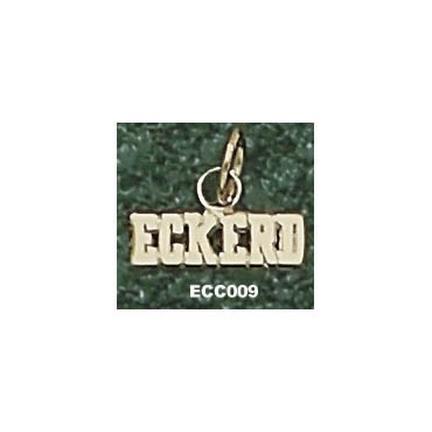 "Eckerd College Tritons ""Eckerd"" 1/8"" Charm - 14KT Gold Jewelry"