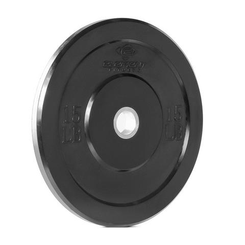 Element Fitness E-3712 10 mm Commercial Bumper Plates - Black