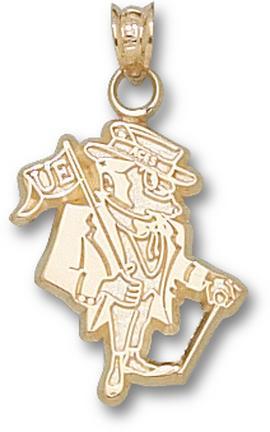 """Evansville Purple Aces """"Evansville Gent"""" Pendant - 10KT Gold Jewelry"""