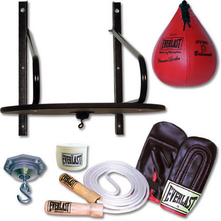Everlast 6-Piece Speed Bag Set