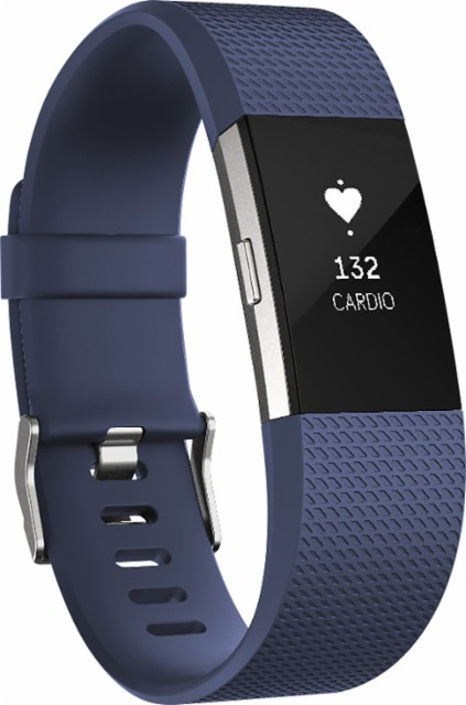 Fitbit FB407SBUS Charge 2 Activity Tracker Blue - Small