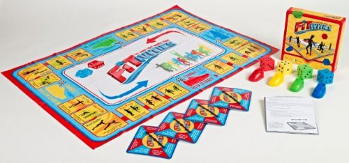 Fitivities FITFF01 Kids & Family Fitness Exercise Game