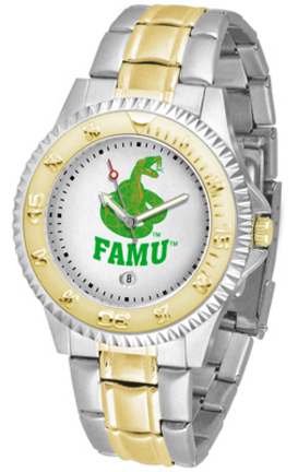 Florida A & M Rattlers Competitor Two Tone Watch