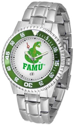 Florida A & M Rattlers Competitor Watch with a Metal Band