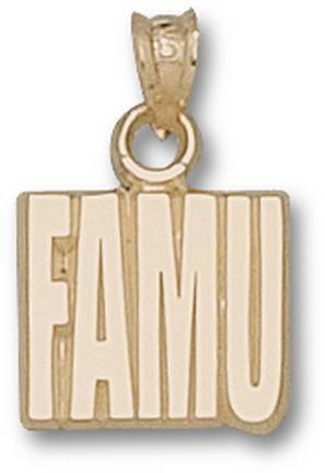 "Florida A & M Rattlers ""FAMU"" Pendant - 10KT Gold Jewelry"