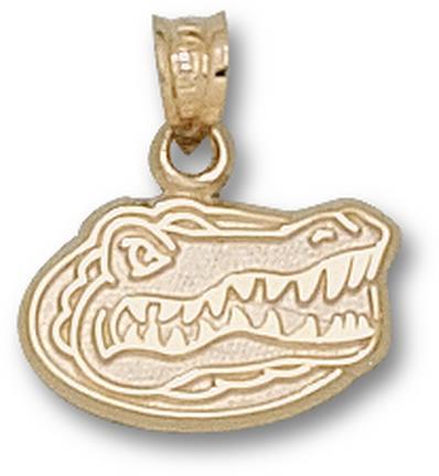 "Florida Gators ""Gator Head"" 3/8"" Lapel Pin - 10KT Gold Jewelry"
