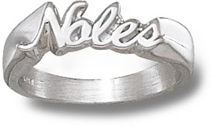 """Florida State Seminoles """"Noles"""" Ladies' Ring Size 8 - Sterling Silver Jewelry"""