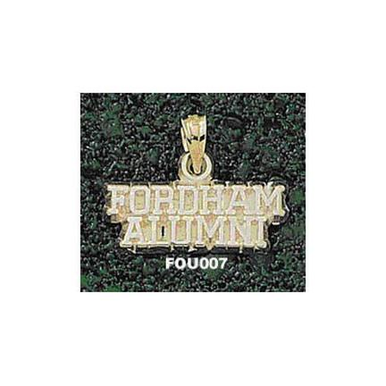 "Fordham Rams ""Fordham Alumni"" Pendant - 10KT Gold Jewelry"