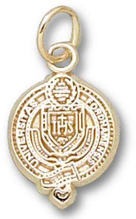 "Fordham Rams ""Seal"" 1/2"" Charm - 10KT Gold Jewelry"
