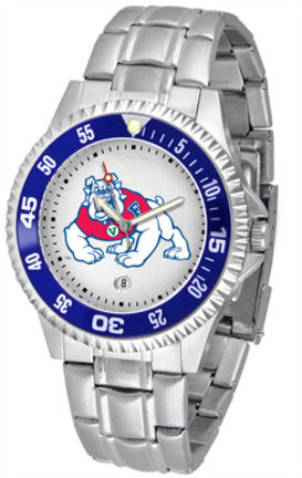 Fresno State Bulldogs Competitor Watch with a Metal Band