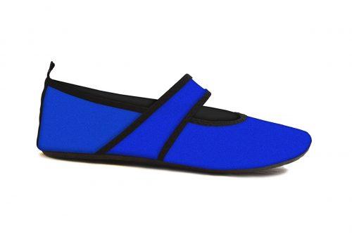 Futsole 2253 Travel Shoes Royal Blue Large Fits Shoe Size 8.5-9.5