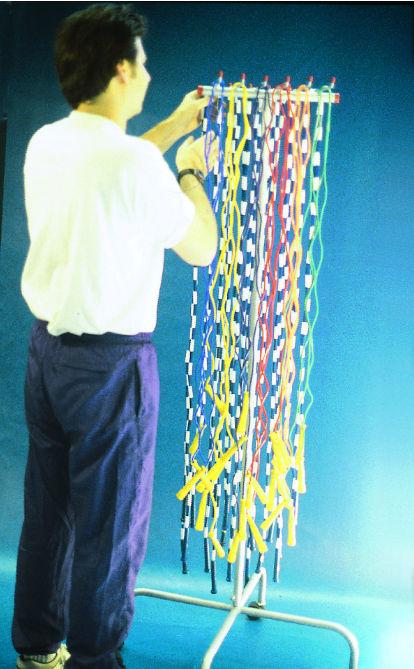 GOAL JRR7212 Jump Rope Rackfor Inexpensive Cardio Workout