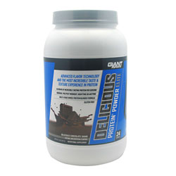 Giant Sports Products 6630021 2 Lbs. Delicious Protein Elite Chocolate