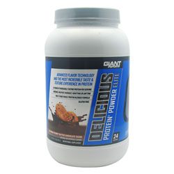Giant Sports Products 6630025 2 Lbs. Delicious Protein Elite Peanut Butter Chocolate