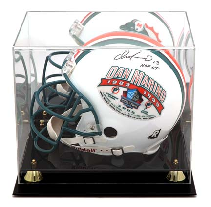 Golden Classic Full Size Football Helmet Display Case