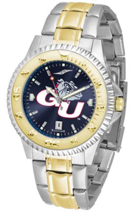 Gonzaga Bulldogs Competitor AnoChrome Two Tone Watch