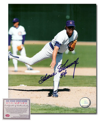 "Goose Gossage Autographed ""Chicago Cubs Pitching"" 8"" x 10"" Photograph (Unframed)"