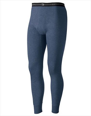 Hanes KMO3 Duofold Originals Mid-Weight Wool-Blend Mens Thermal Underwear Size 2 XL Blue Jean