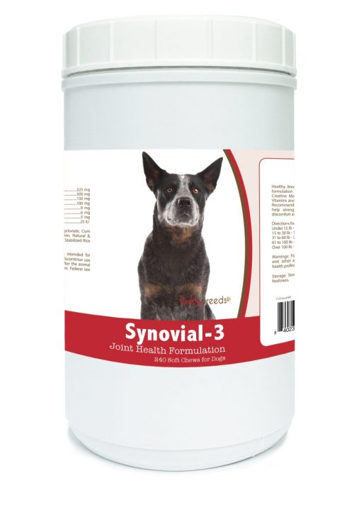 Healthy Breeds 840235101109 Australian Cattle Dog Synovial-3 Joint Health Formulation - 240 Count