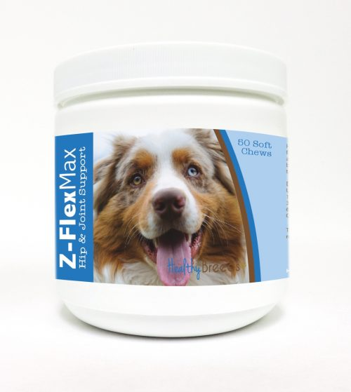 Healthy Breeds 840235101215 Australian Shepherd Z-Flex Max Hip & Joint Soft Chews - 50 Count