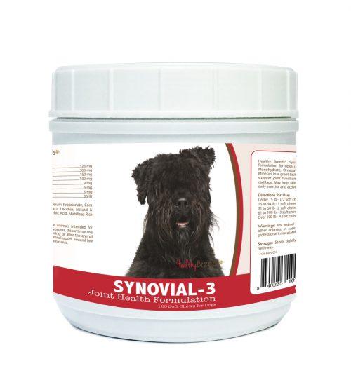 Healthy Breeds 840235101734 Bouvier des Flandres Synovial-3 Joint Health Formulation - 120 Count