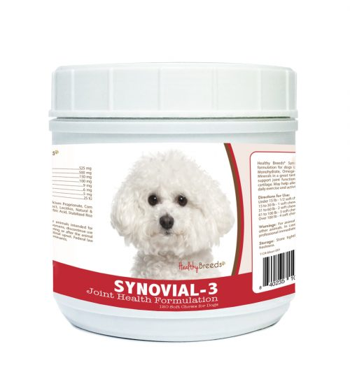Healthy Breeds 840235102656 Bichon Frise Synovial-3 Joint Health Formulation - 120 Count