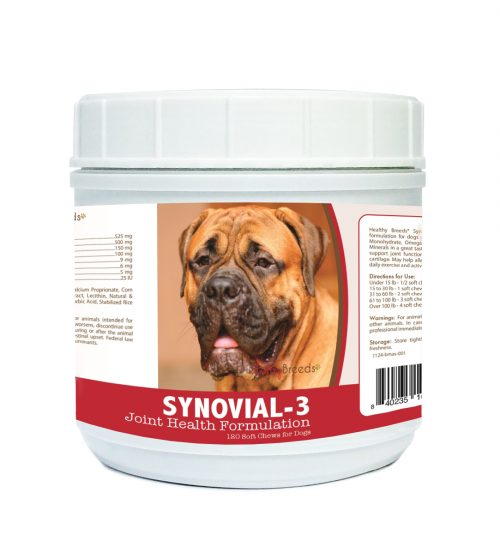 Healthy Breeds 840235102977 Bullmastiff Synovial-3 Joint Health Formulation - 120 Count