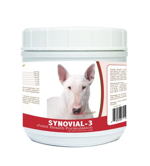 Healthy Breeds 840235103899 Bull Terrier Synovial-3 Joint Health Formulation - 120 Count