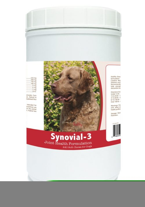 Healthy Breeds 840235105251 Chesapeake Bay Retriever Synovial-3 Joint Health Formulation 240 Count