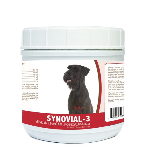 Healthy Breeds 840235108696 Giant Schnauzer Synovial-3 Joint Health Formulation - 120 Count