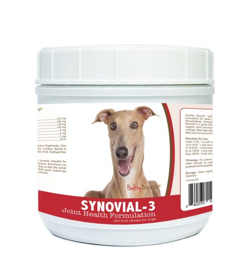 Healthy Breeds 840235109105 Italian Greyhound Synovial-3 Joint Health Formulation - 120 Count