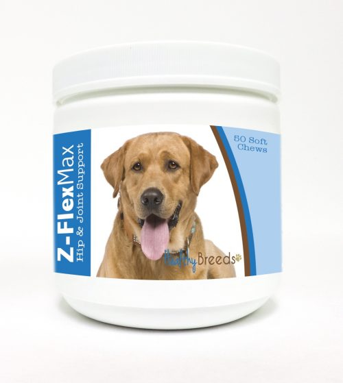 Healthy Breeds 840235109747 Labrador Retriever Z-Flex Max Hip & Joint Soft Chews - 50 Count