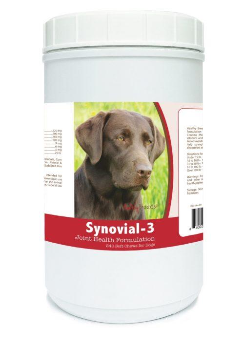 Healthy Breeds 840235109853 Labrador Retriever Synovial-3 Joint Health Formulation - 240 Count