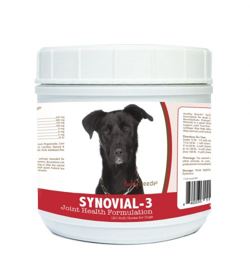 Healthy Breeds 840235111351 Mutt Synovial-3 Joint Health Formulation - 120 Count