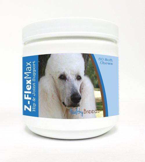 Healthy Breeds 840235112303 Poodle Z-Flex Max Hip & Joint Soft Chews - 50 Count