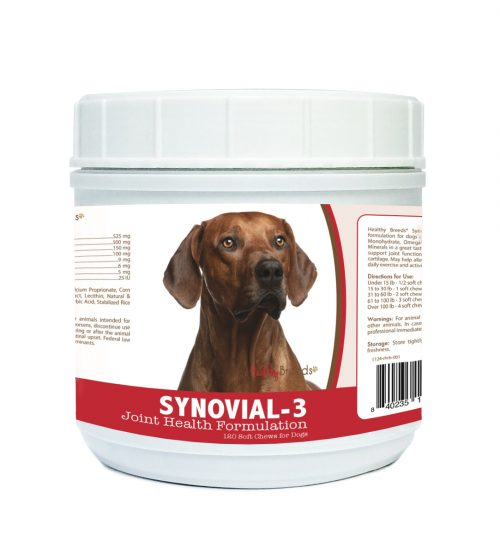 Healthy Breeds 840235113553 Rhodesian Ridgeback Synovial-3 Joint Health Formulation - 120 Count