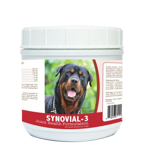Healthy Breeds 840235113713 Rottweiler Synovial-3 Joint Health Formulation - 120 Count