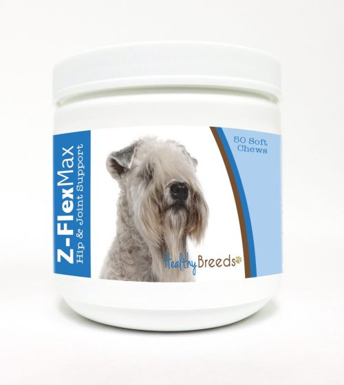 Healthy Breeds 840235113997 Soft Coated Wheaten Terrier Z-Flex Max Hip & Joint Soft Chews - 50 Count